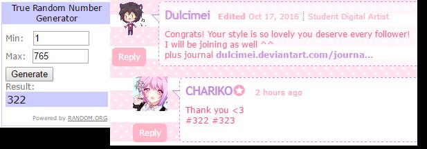 Winner by CHARIKO