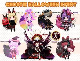 Ghostie Halloween adoptable batch