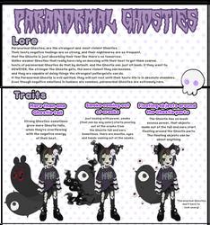 Paranormal Ghosties (new rarity)