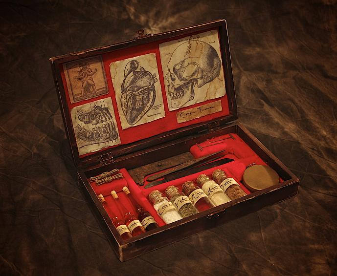 Dr. Killian's Apothecary Kit by JasonMcKittrick