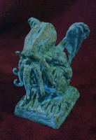 Cthulhu Idol by JasonMcKittrick