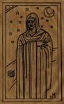 Vampire Woodcut