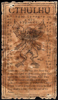 Graven Image of Cthulhu