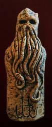 Innsmouth Cthulhu Idol by JasonMcKittrick