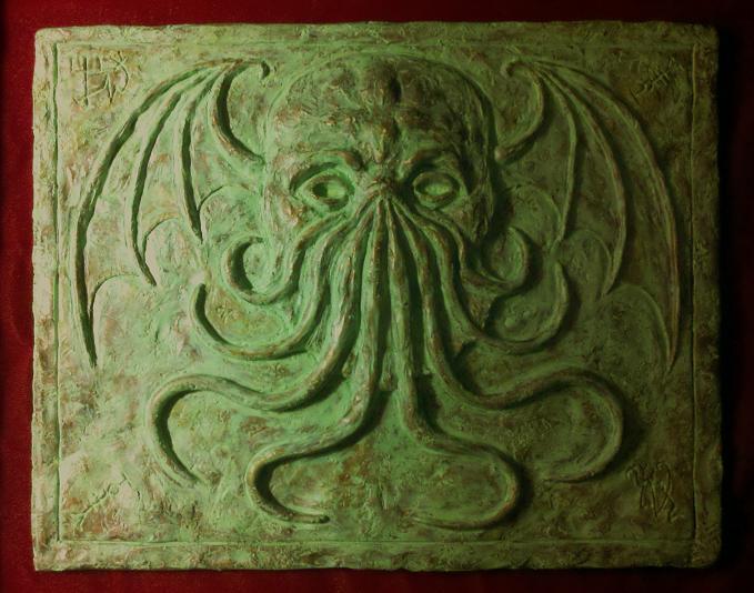 Cthulhu Stele by JasonMcKittrick