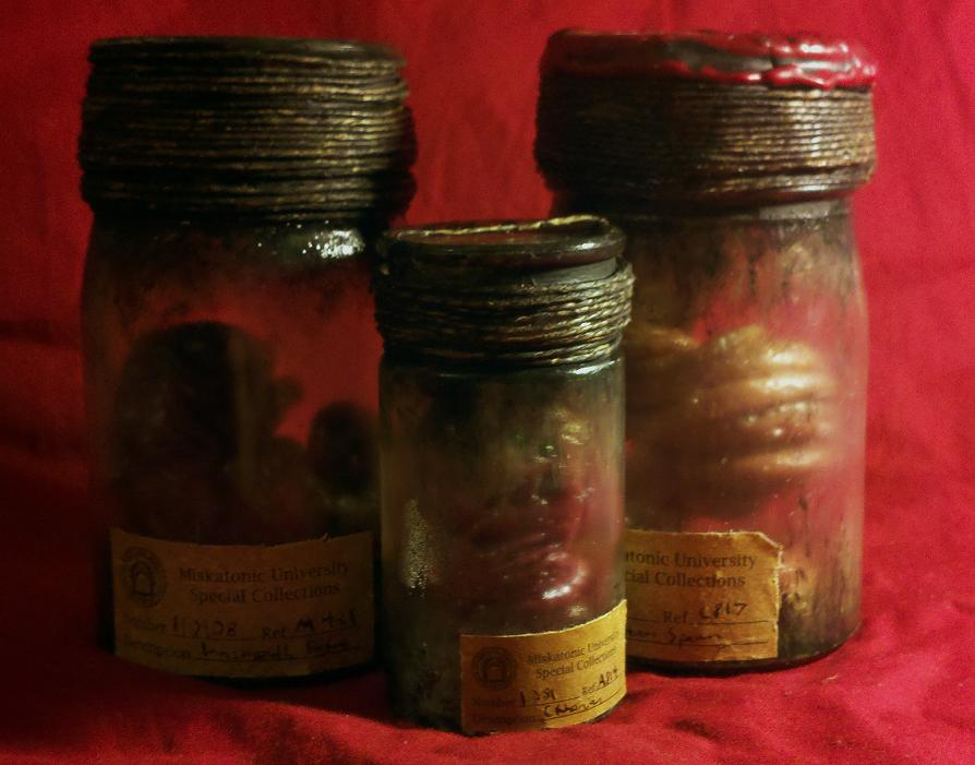 Killian Miskatonic Specimens by JasonMcKittrick