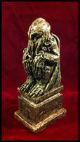 Iron Age Cthulhu Idol by JasonMcKittrick