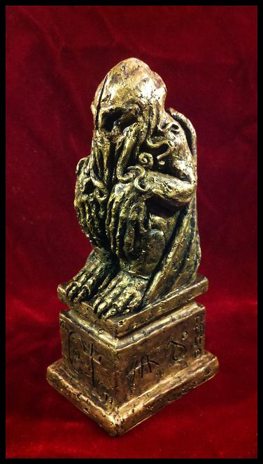 Iron Age Cthulhu Idol by JasonMcKittrick