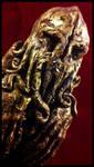 Iron Age Cthulhu Idol - detail