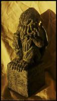 Miskatonic University Cthulhu Idol by JasonMcKittrick