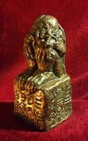 R'lyeh Cthulhu Idol by JasonMcKittrick