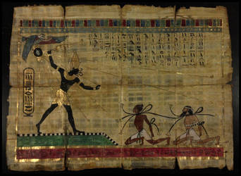 The Scroll of the Black Pharaoh by JasonMcKittrick