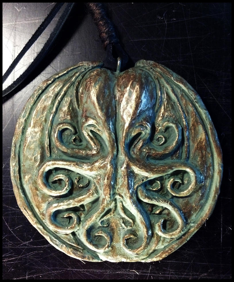 Cthulhu Cultist Medallion by JasonMcKittrick