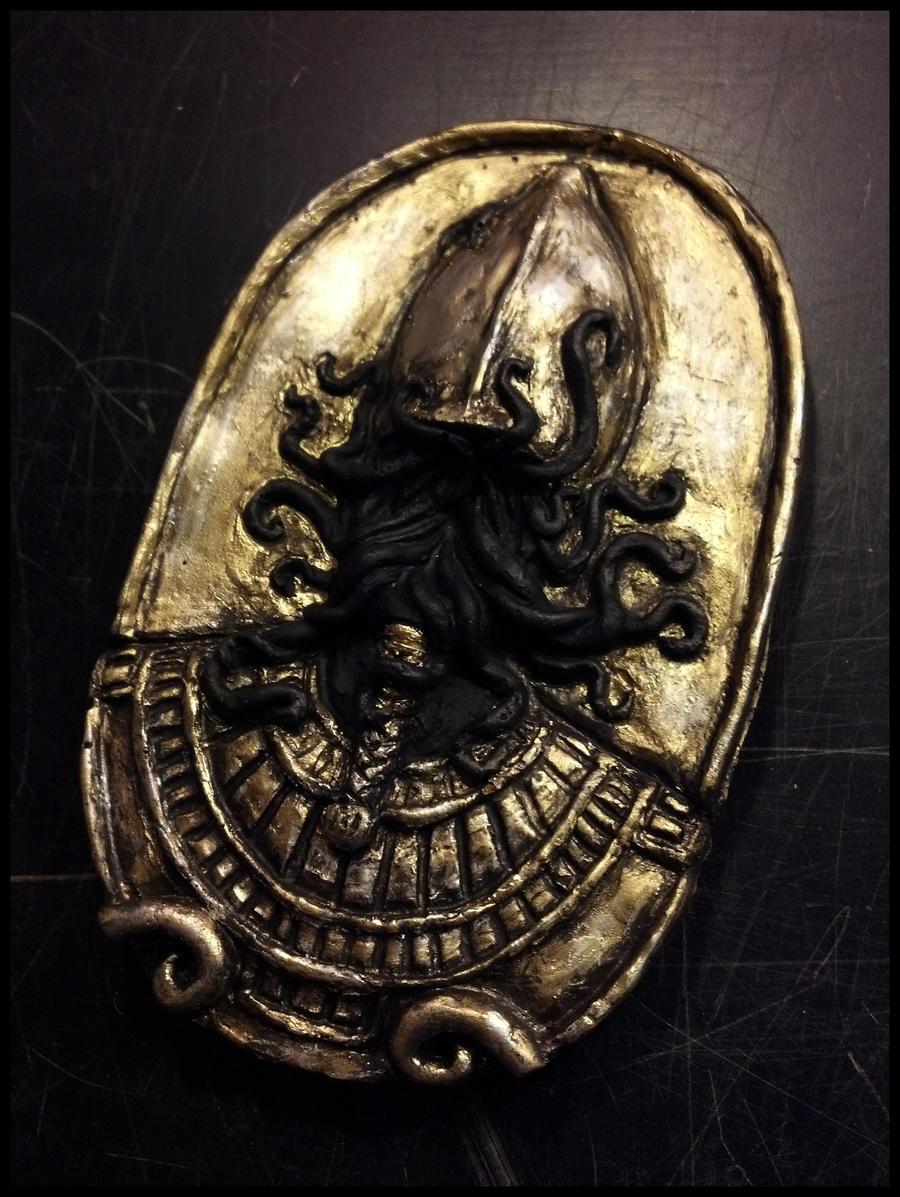 Crawling Chaos Amulet by JasonMcKittrick