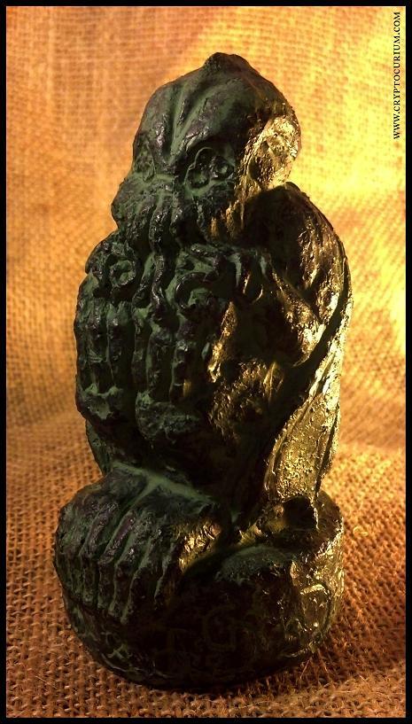 Arkham Cthulhu Idol by JasonMcKittrick