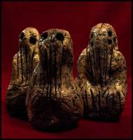 Mammoth Tusk Cthulhu Idols by JasonMcKittrick