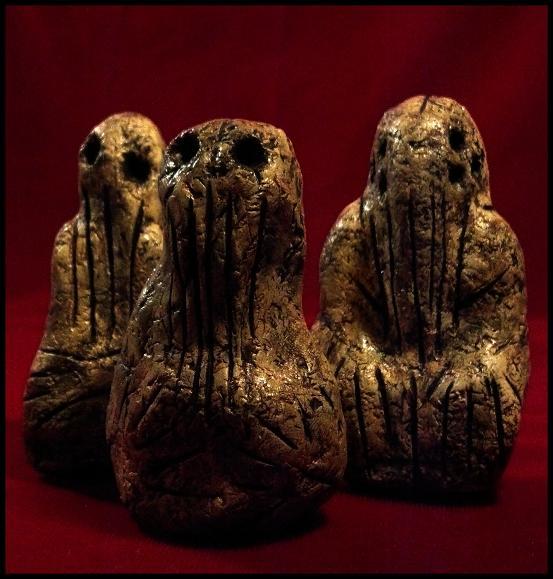 Mammoth Tusk Cthulhu Idols