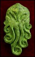The Cthulhu Artifact- Detail by JasonMcKittrick