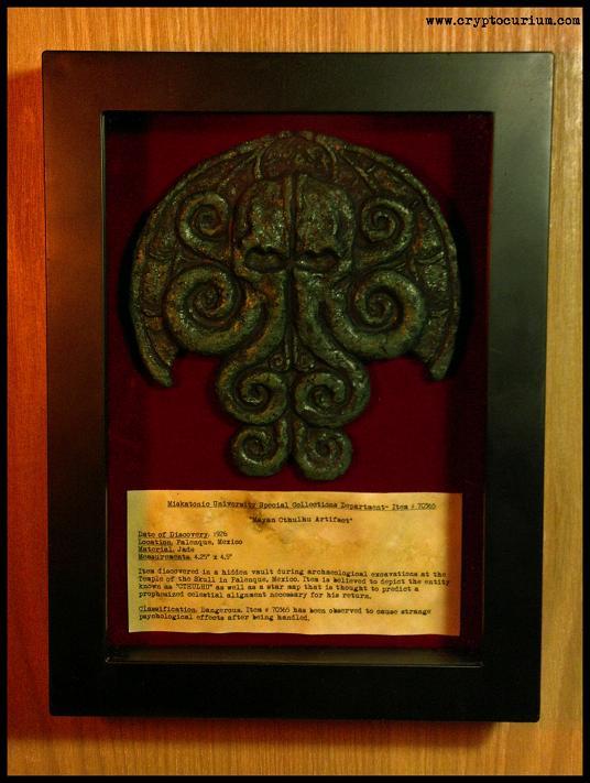 The Mayan Cthulhu Artifact by JasonMcKittrick
