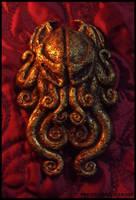 Cthulhu Cult Sigil Pin by JasonMcKittrick