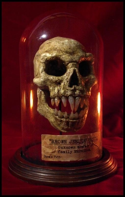 The Skull of Brown Jenkin by JasonMcKittrick