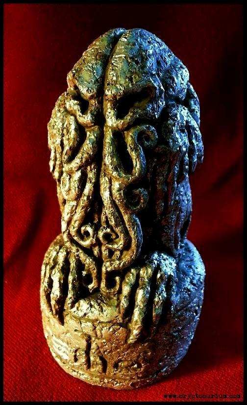 Tesla's Cthulhu Idol by JasonMcKittrick
