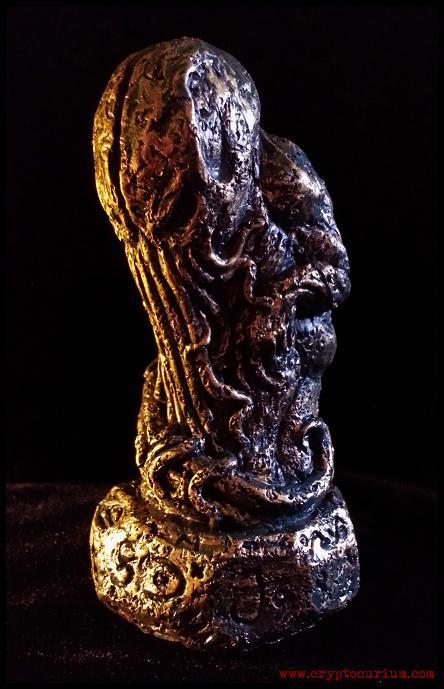 Alhazred's Cthulhu Idol by JasonMcKittrick