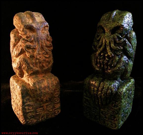 Eldritch Cthulhu Idols by JasonMcKittrick