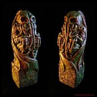 Kingsport Cthulhu Idol by JasonMcKittrick