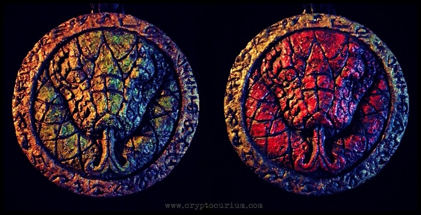 Father of Serpents Medallion by JasonMcKittrick