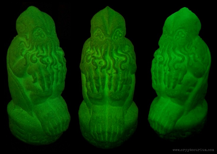Glow-in-the-Dark Cthulhu Idol by JasonMcKittrick