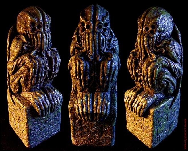 The Cthulhu Idol by JasonMcKittrick