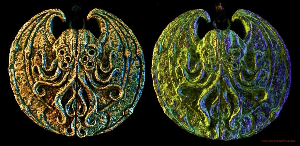 Cthulhu Cultist Medallions by JasonMcKittrick