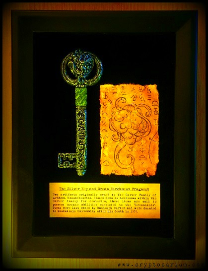 The Silver Key and Dream Parchment Fragment