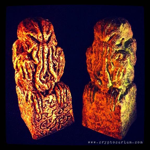 Miniature Cthulhu Idols by JasonMcKittrick