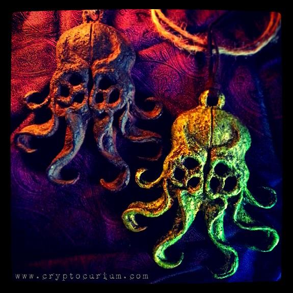 Cthulhu Amulets by JasonMcKittrick