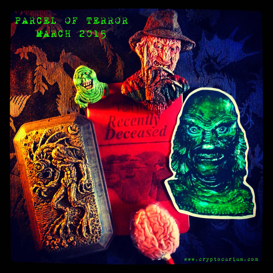 Parcel of Terror Subscription Box- March by JasonMcKittrick
