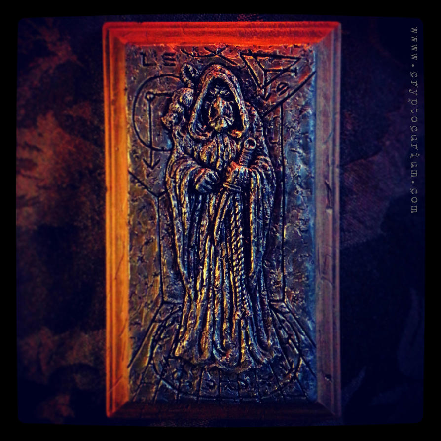Dreams in the Witch House Plaque by JasonMcKittrick