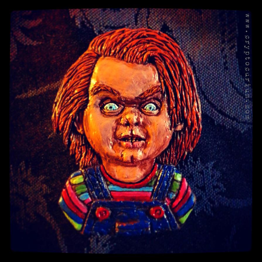 Chucky Slasher Magnet by JasonMcKittrick