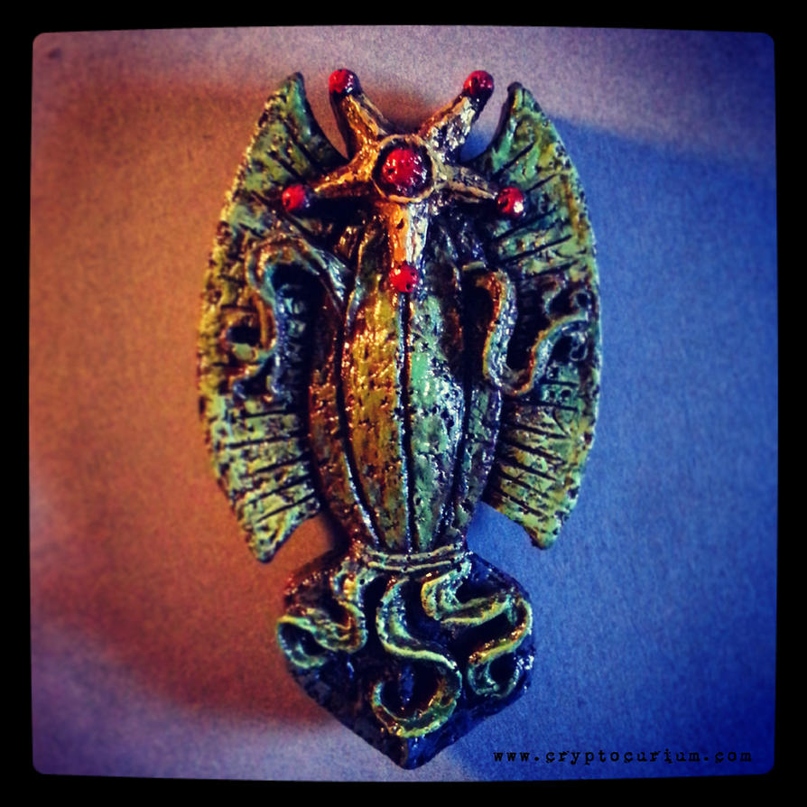Elder Thing Magnet by JasonMcKittrick