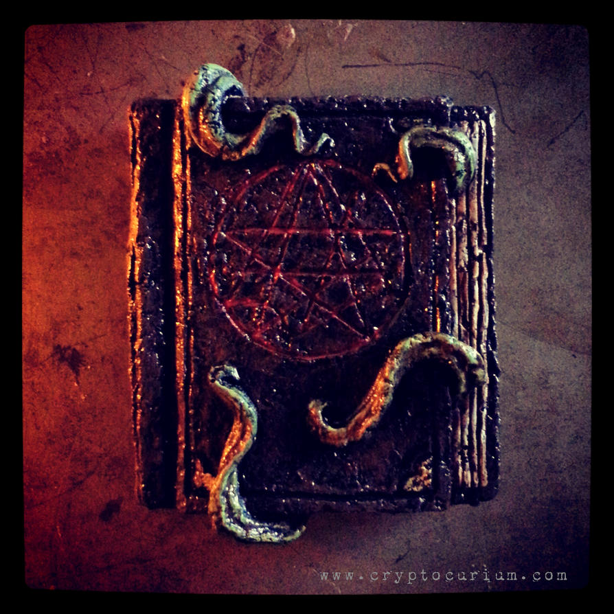 Necronomicon Magnet by JasonMcKittrick