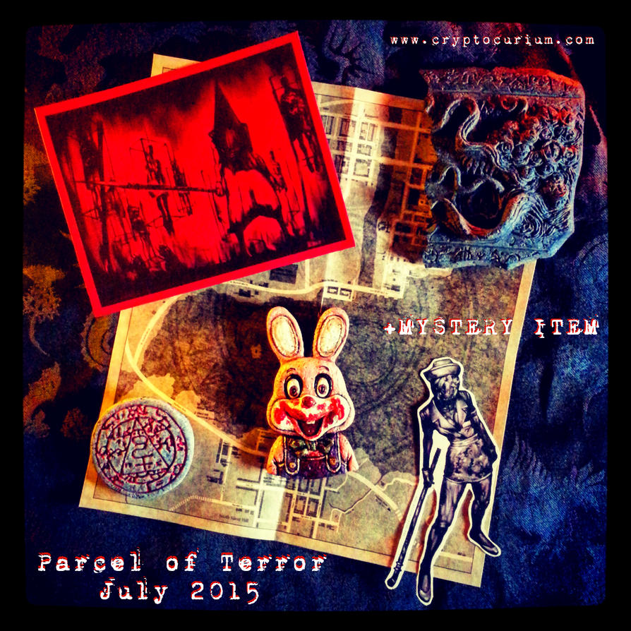 Parcel of Terror July 2015 Silent Hill by JasonMcKittrick