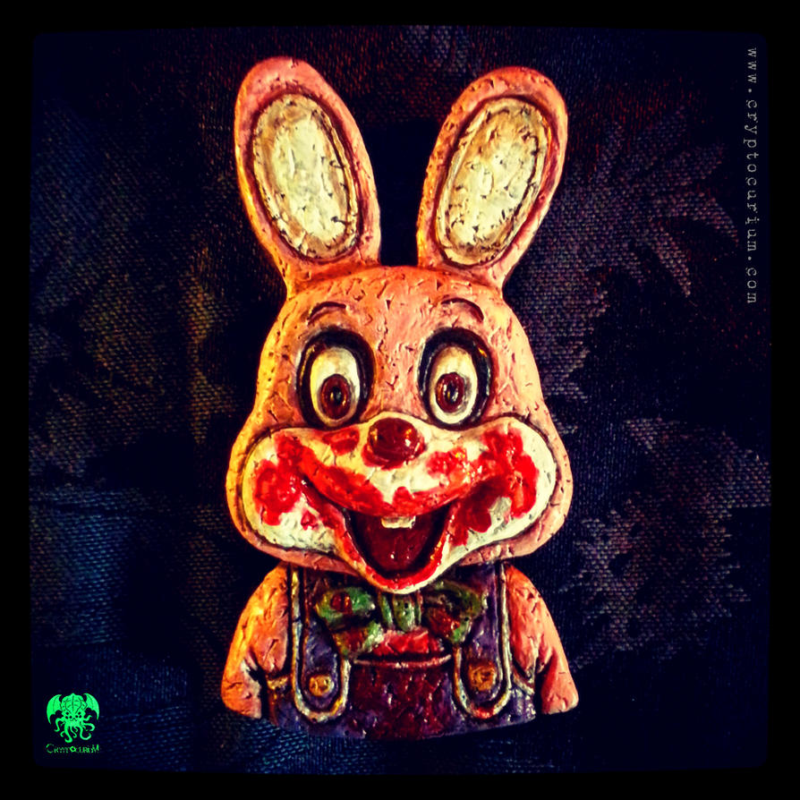 Robbie the Rabbit Slasher Magnet by JasonMcKittrick