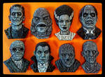 Universal Monsters Magnets