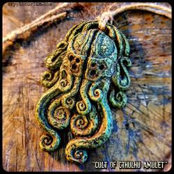 Cult of Cthulhu Amulet by JasonMcKittrick
