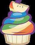 Zapapple Cupcake