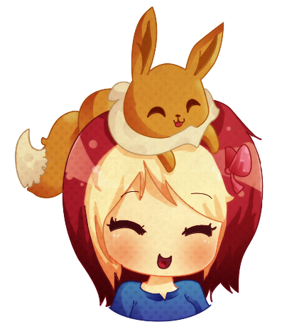 Chibi Me and Eevee