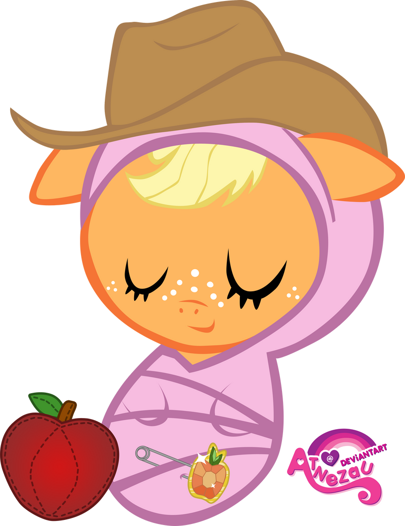 My little pony baby applejack - photo#13