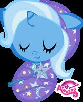 Newborn Trixie Asleep by atnezau
