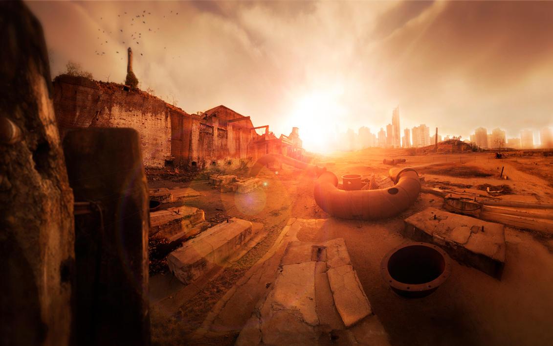 Ruins by Vifram